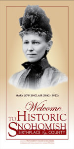 mary low sinclair banner